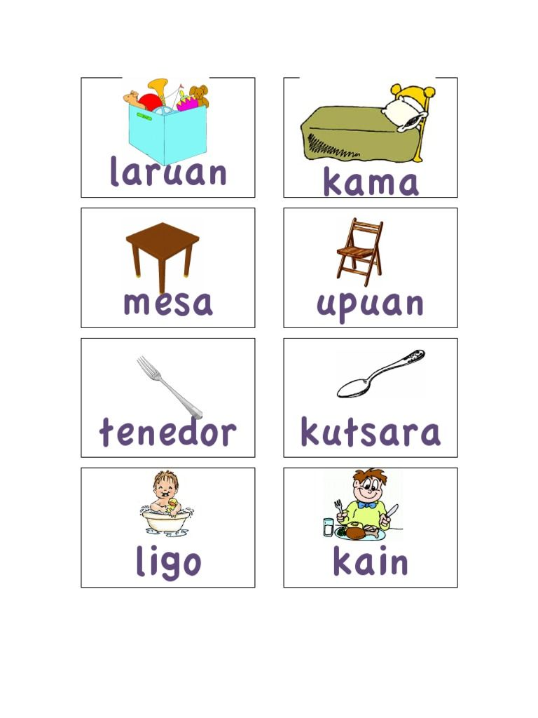 Teach your kids some vocabulary words in Tagalog