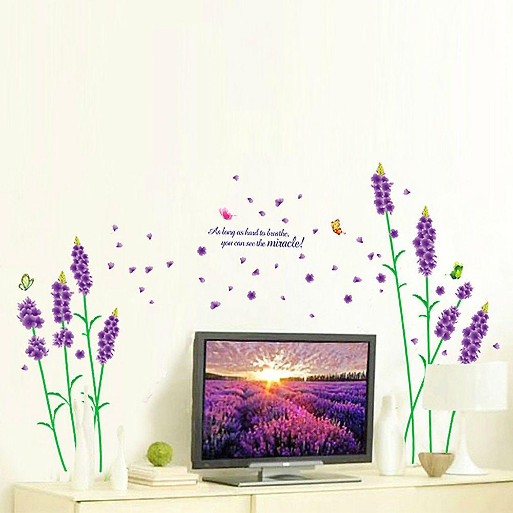 Amazing Details zu Wandtattoo Schlafzimmer Wohnkultur Vinyl Aufkleber Tier Baum Lavender Big Ben