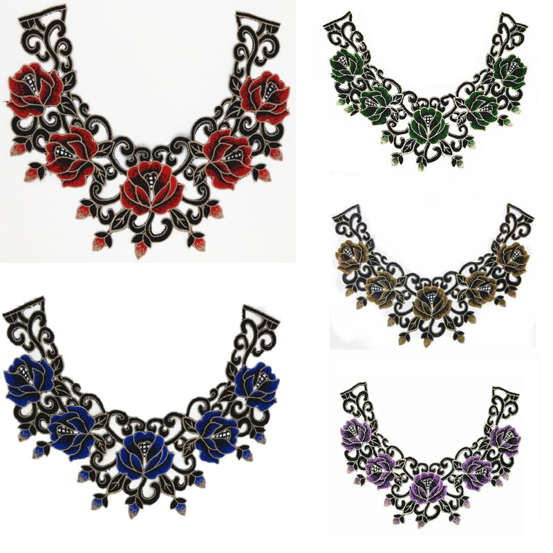 Find More Lace Information about 3D Collar Embroidered lace Applique Fabric lace Wedding Dress Accessories DIY Sew Cloth lace Decorative patch,High Quality dresses ball,China accessories little black dress Suppliers, Cheap dress money from TF Home on Aliexpress.com