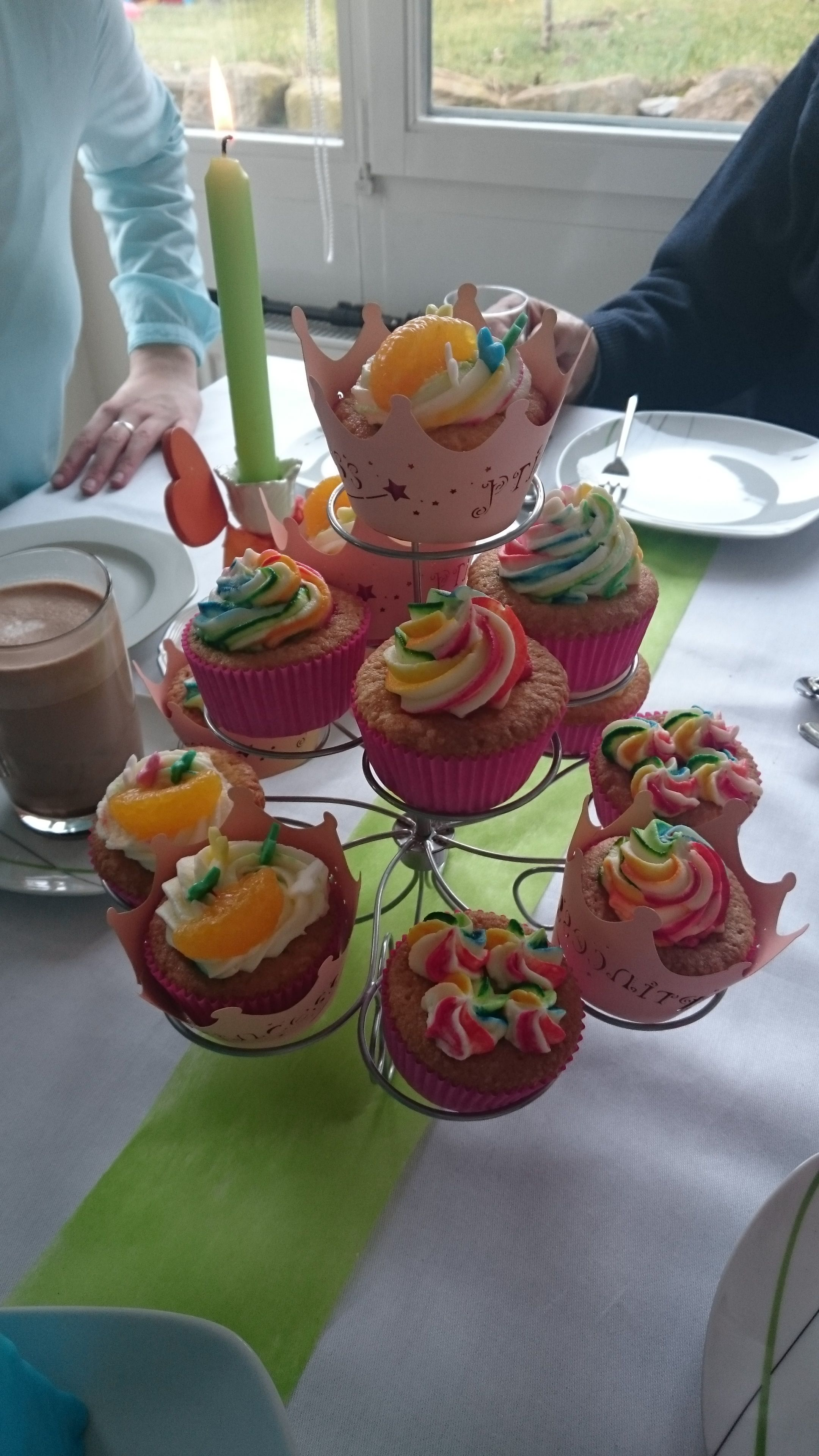 Colorful Birthday Cupcakes 3
