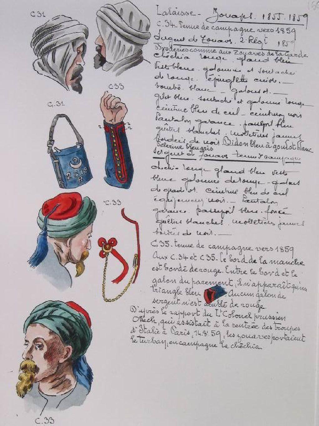 Napoleon Iii Uniforms Second Empire 38 Laminas Crimean War Napoleon Empire