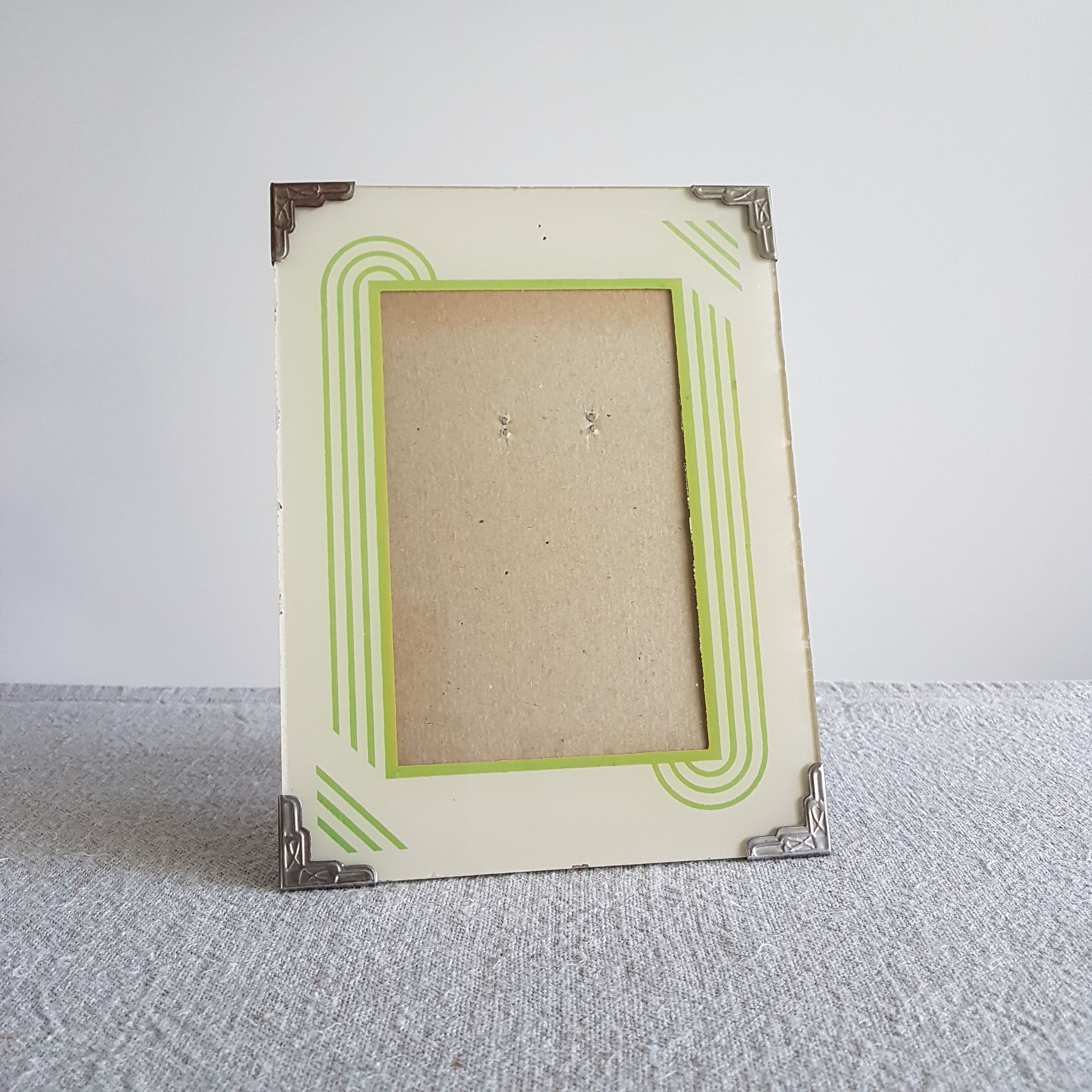 414 x 6 backpainted art deco picture frame w etsy