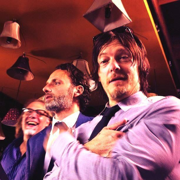 Greg, Andy, and Norman