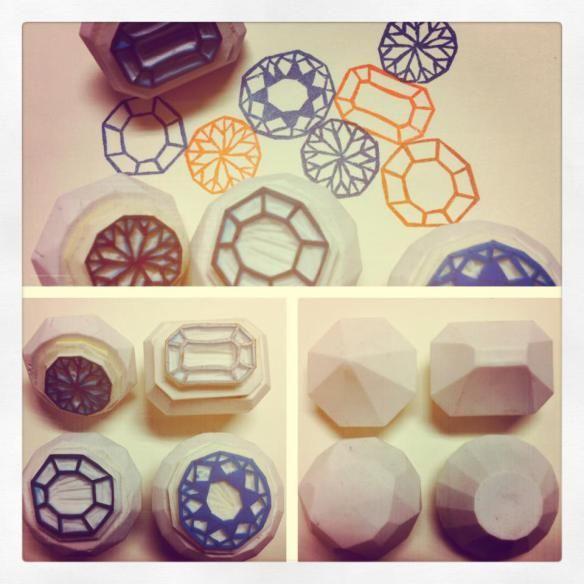 Pump it : Handmade Rubber stamp | jeepkongdechakul