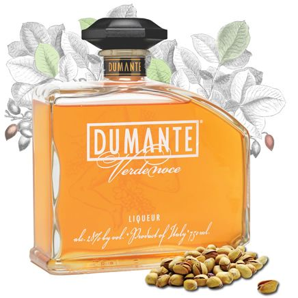 About Dumante Verdenoce Liqueur - Dumante Italian Liqueur dumante.com Dumante Verdenoce is handcrafted in select small batches in Italy with a slowly steeped genuine Sicilian pistachio infusion, natural craft ingredients and flavors, and fine Italian artisan spirits. Enjoy Dumante Verdenoce neat, on the rocks or mixed with other fine spirits and ingredients giving ultra