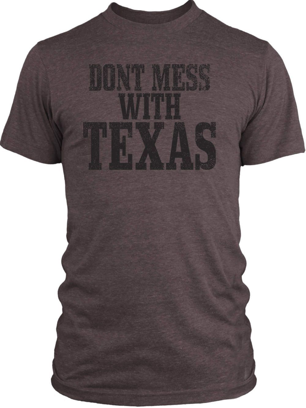 Big Texas Donít Mess with Texas Vintage Tri-Blend T-Shirt