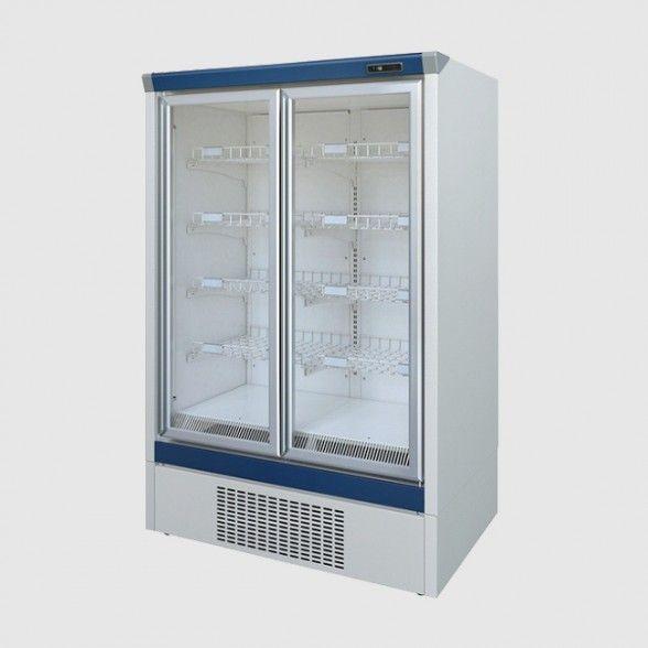 Mafirol Ba14fv Bt Upright Double Glass Door Freezer
