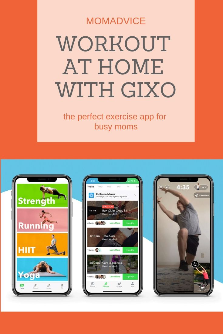 Gixo Fitness App for the New Year (GIVEAWAY!!!) Workout