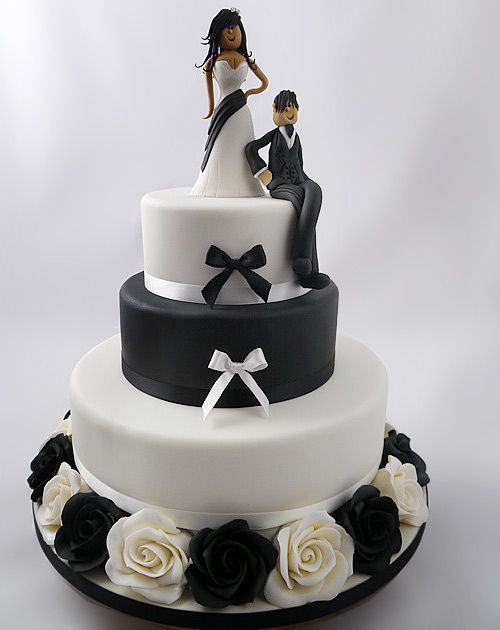 bride and groom cake topper tutorial