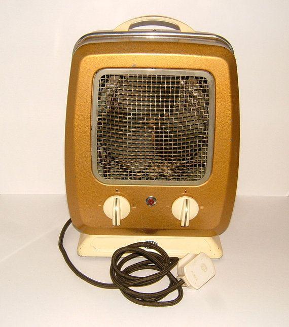 1950s hmv salisbury hct4 model vintage heater by biminicricket radiateurs electriques. Black Bedroom Furniture Sets. Home Design Ideas