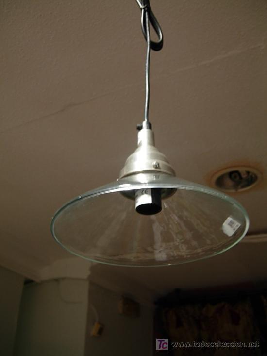 Lámpara de cristal cónica Dos disponibles 45 u20ac lámparas