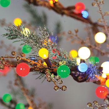 costco mexico - ge, Árbol navideño con luz led de 2.4 m de alto