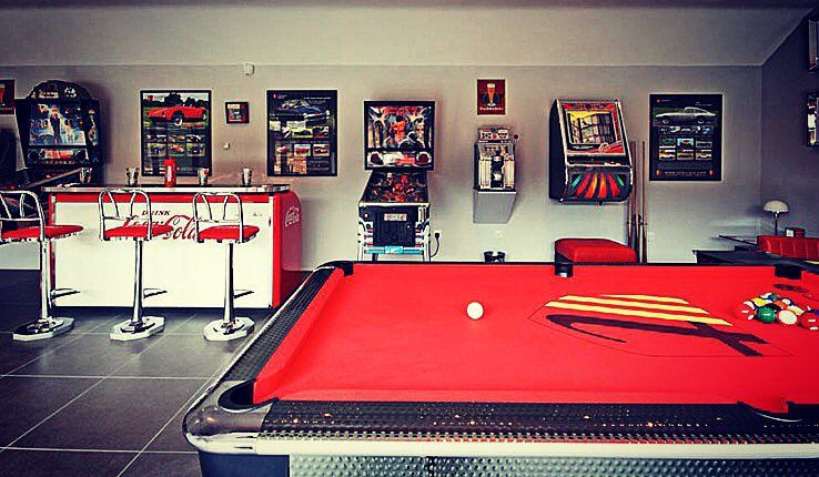 Classic Man Cave Game : Top man caves for watching super bowl qualitybath