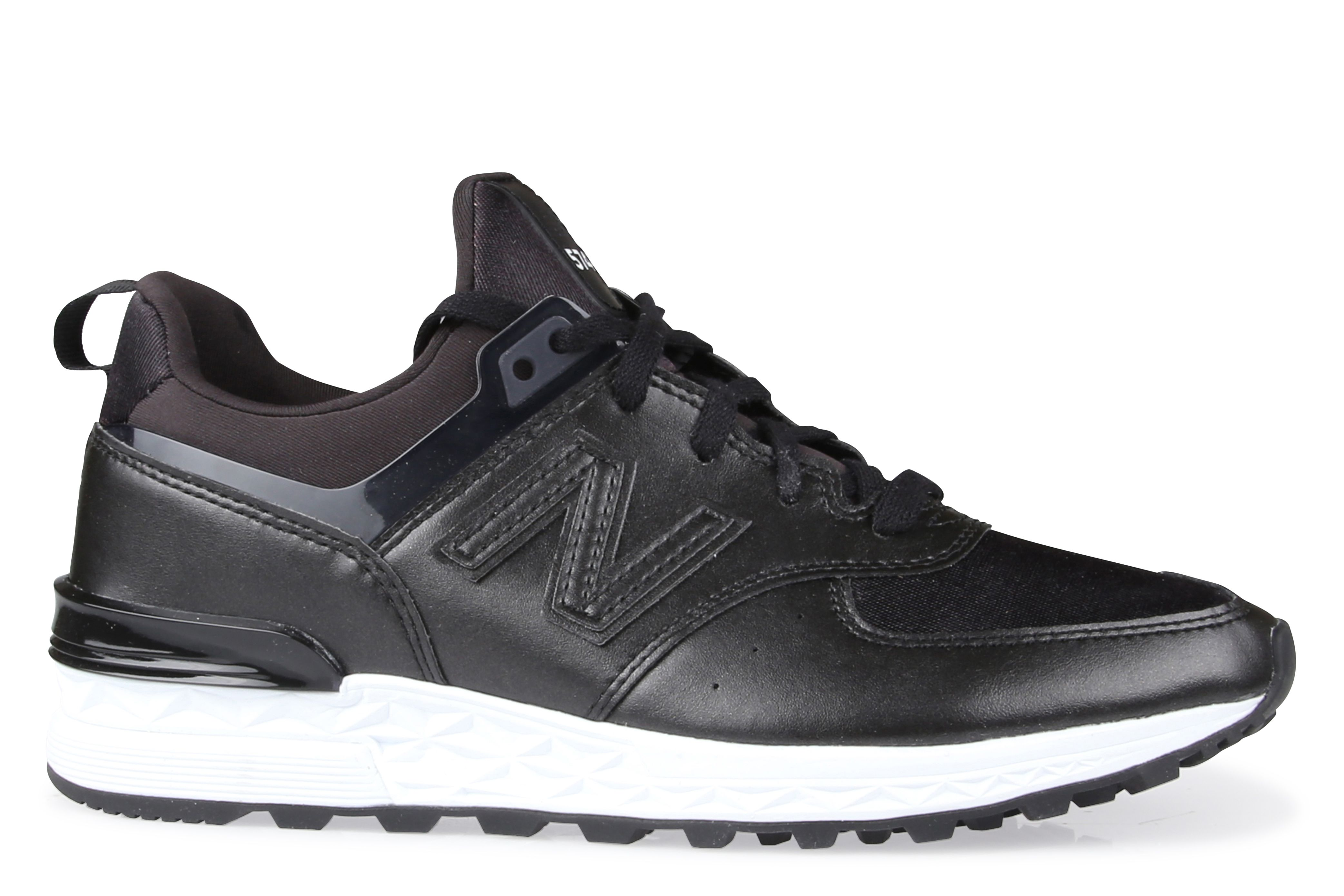 new balance 574 all black womens nz