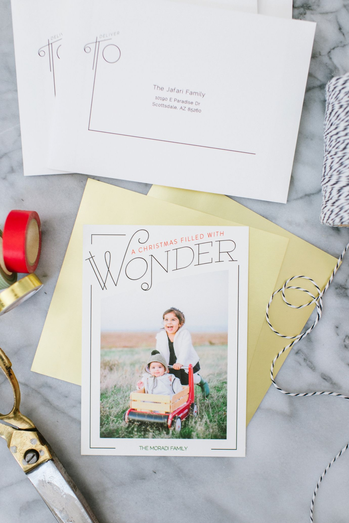 Make it the most wonderful time of year with a Minted