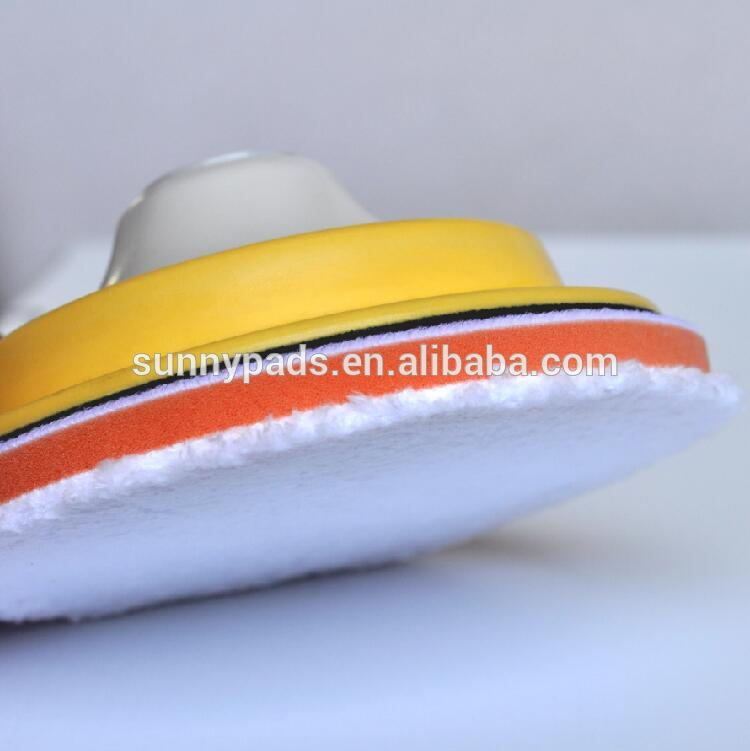 3 hot selling wool buffing pad for finishing buffing