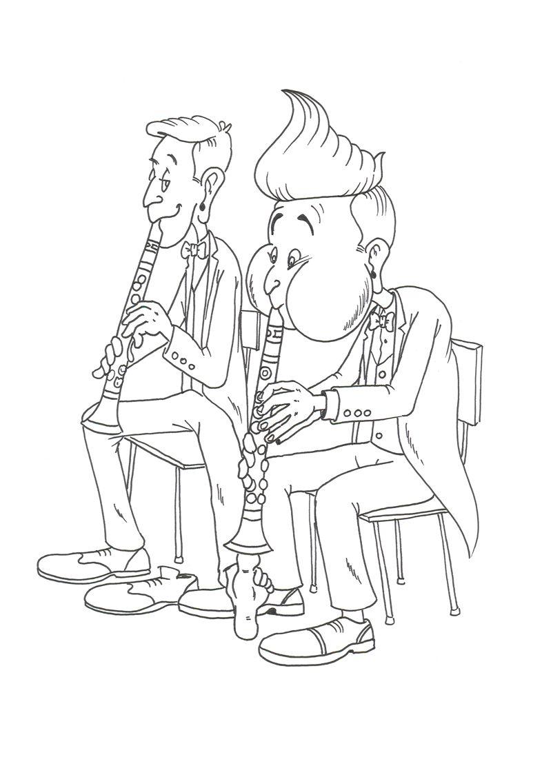 klarinet sketches