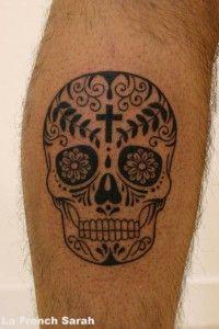 Tatouage Tete De Mort Mexicaine Tatouage Tattoos Sugar Skull