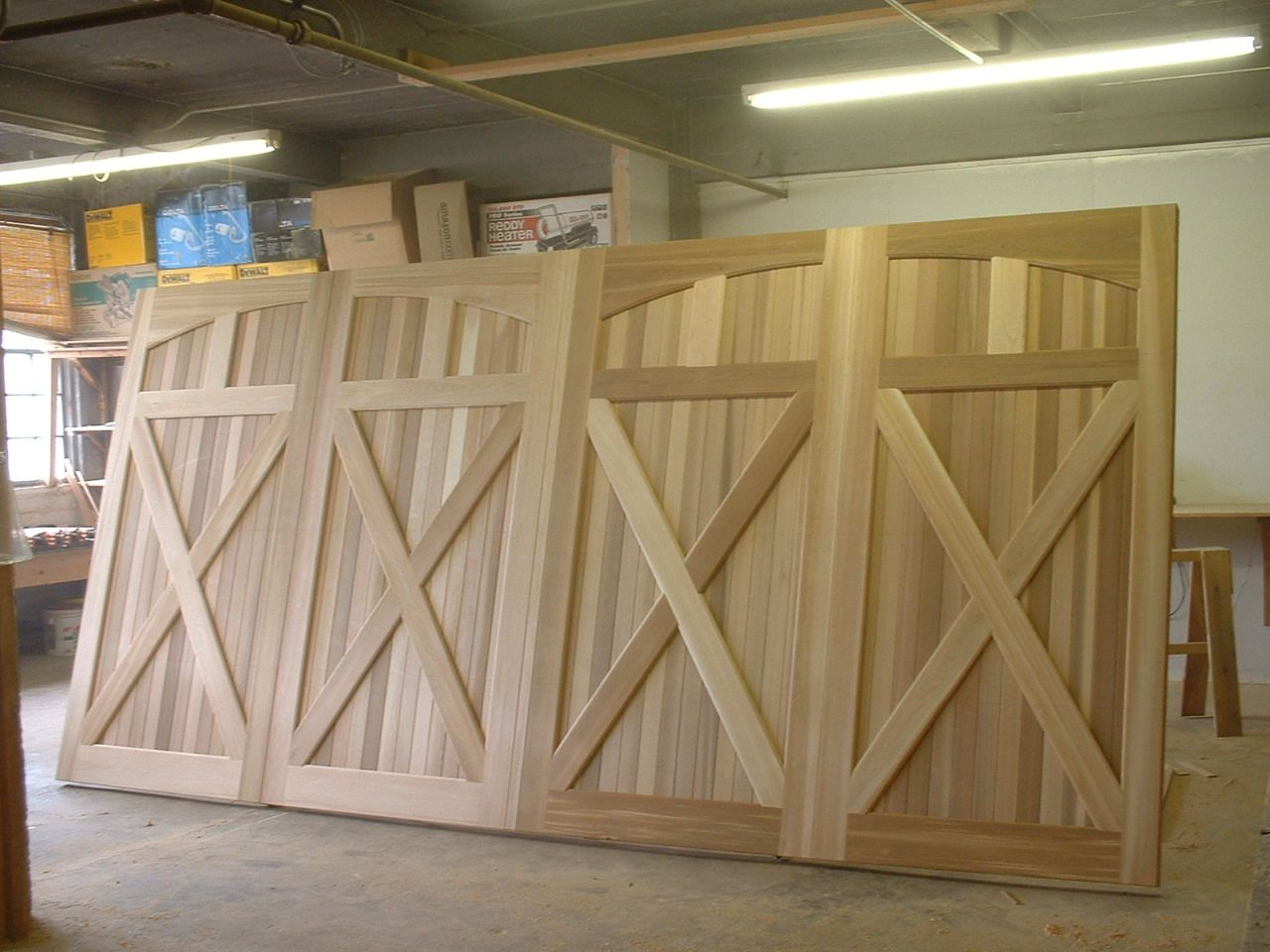Faux Wooden Garage Doors Diy Wooden Garage Doors Garage Door