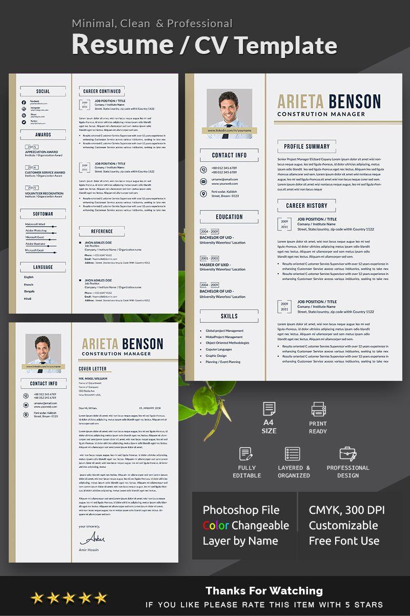 Arieta Benson Resume Template 78249 Resume template