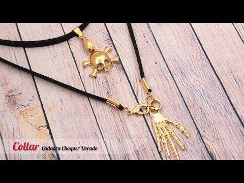 6ccb916f4dc5 Como hacer accesorios faciles   Collar de Moda - YouTube