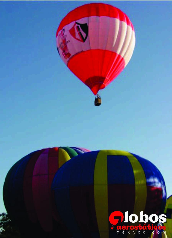 Globos aerostáticos en Club Atlas, 92 aniversario ana@globosaerostaticosmexico.com