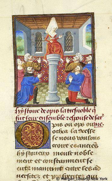 MS M.381 *Author/Artist:Boccaccio, Giovanni, 1313-1375. *Uniform Title:De mulieribus claris. French (Middle French). Selections *Title:Livre des cleres et nobles femmes. *Published/Created:France, probably Paris or possibly the Loire region, ca. 1460.