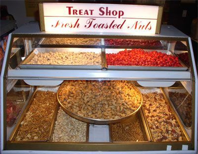 I Remember This Fresh Toasted Nuts Display At My Local Department