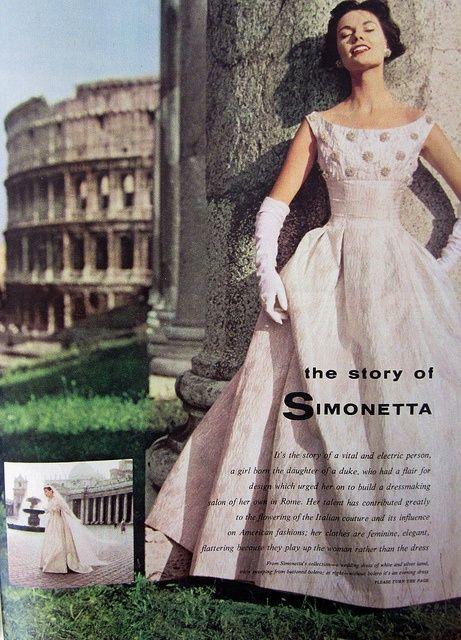 Italian Vintage Style Dresses