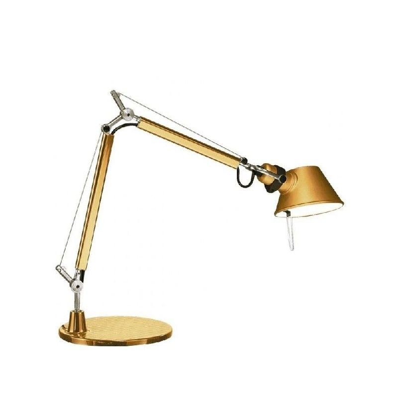 Artemide Tolomeo Micro Artemide Touch Of Gold Lamp