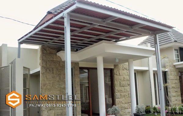 harga besi baja ringan untuk kanopi atap rumah semarang tengah alderon