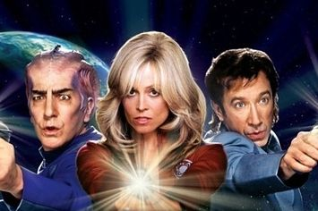 <b>If you don't love this movie, sorry, but you're wrong.</b> It has everything: Tim Allen with a mullet, Alan Rickman in an alien skullcap, and Sigourney Weaver with Farrah Fawcett hair.