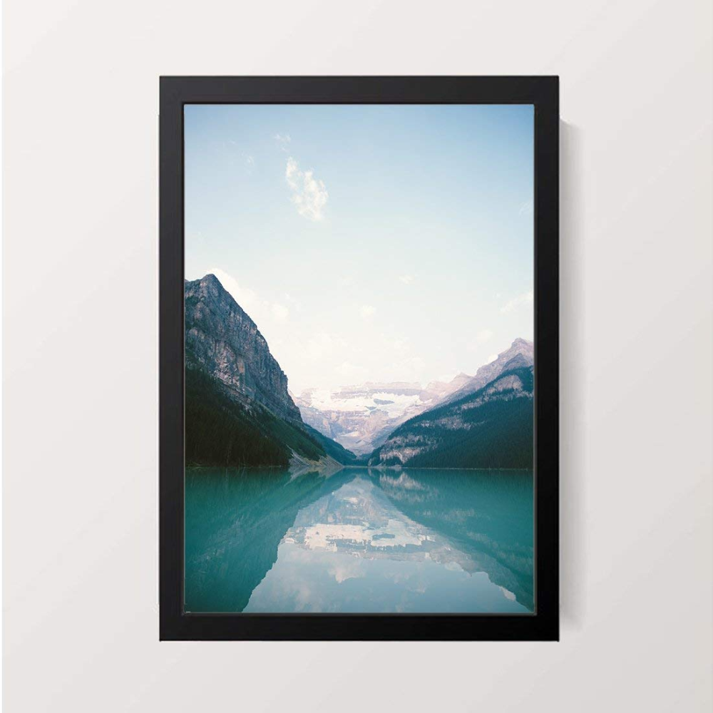 Party Pad Lake Louise Wall Decor A3 Size Art Print With Frame Amazon In Hemp Valley In 2020 Lake Louise Art Prints Lake