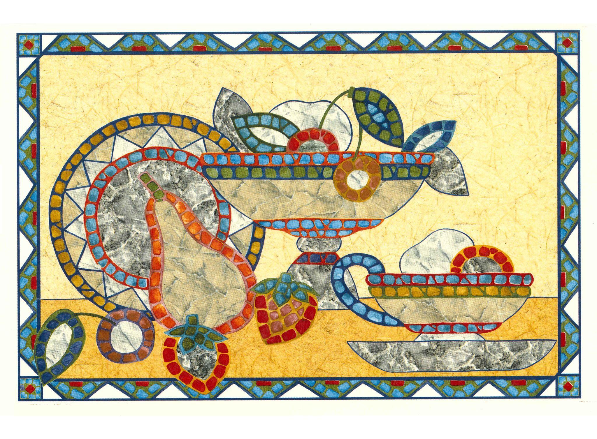 144 Mosaic Fruit Bowls | Mosaics and Mosaic wall art