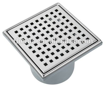 Factory Direct Wholesale Free Sample Cheap Price Floor Drain Stainless Steel Cover Floor Drains Bathroom Accessories Sanitary