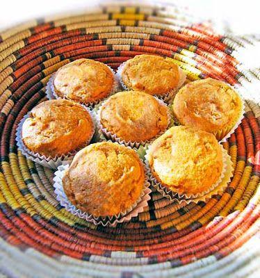 Karina's gluten-free pumpkin corn muffins