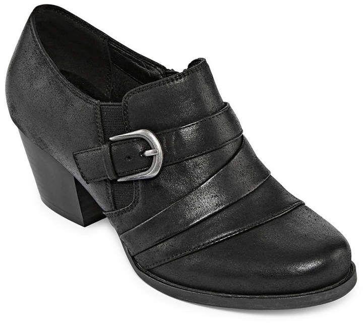 Yuu Ralay Womens Shooties Slip On Round Toe Slip On Shoes