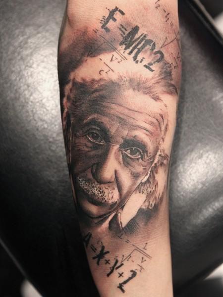 Albert Einstein Tattoos And Tattoo Designs Art Tattoo