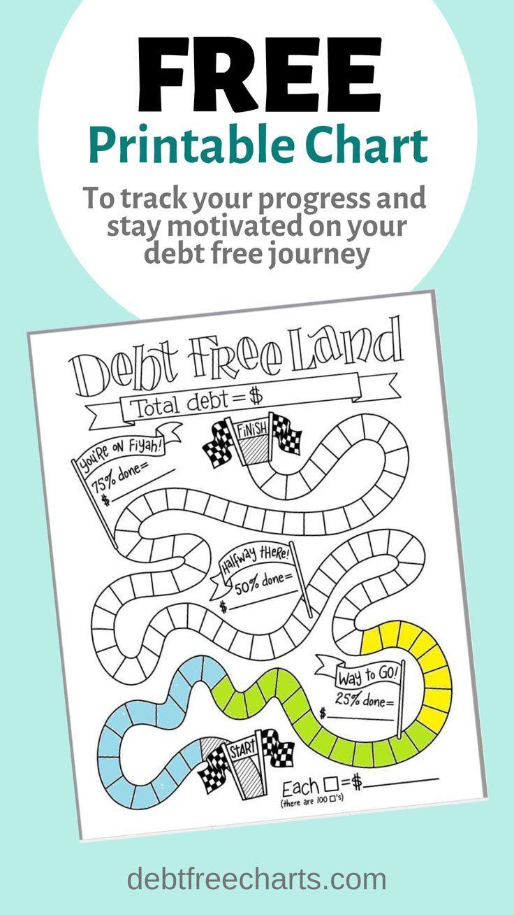 Debt Free Land Debt Free Credit Card Debt Payoff Debt Free Printables