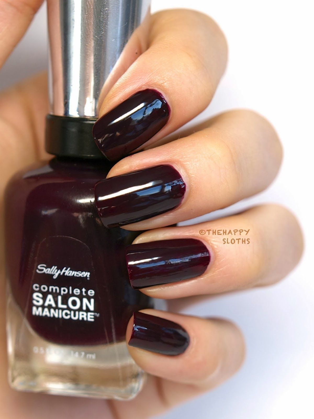 The Hy Sloths Sally Hansen Csmtko Complete Salon Manicure Nail Polish In Jaded