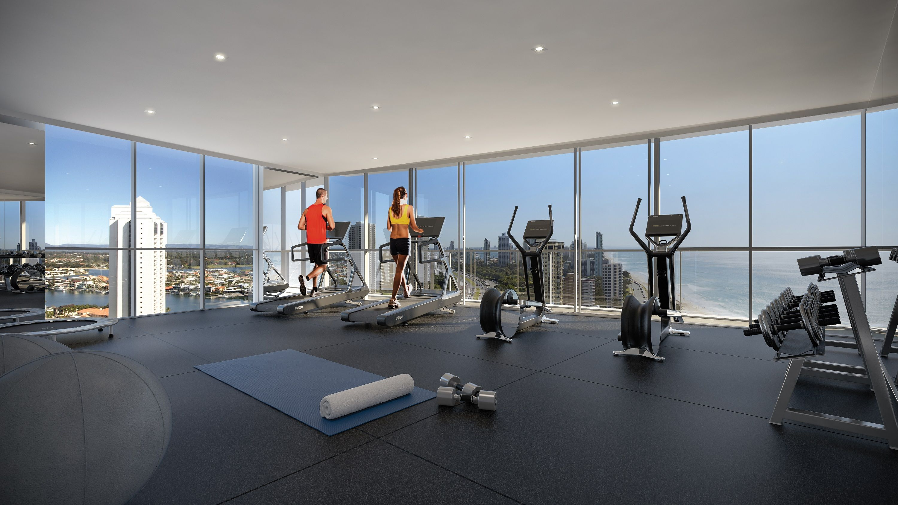 Gym On A Higher Level With Stunning View