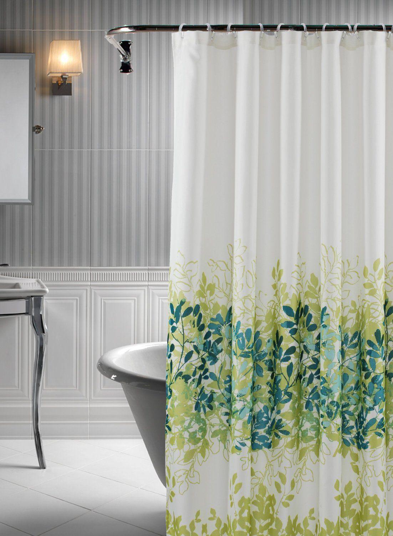 Amazon Com Rainforest 14 Piece Shower Curtain Set In Green Teal