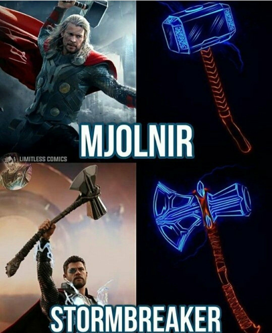30f41c2b Jornbjorn! That's the name of his axe in the comics... | Avengers ...