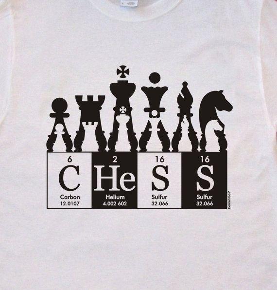 2d20c33e37 Chess handscreened tee shirt ElementeesTM tee shirt by elementees, $15.95