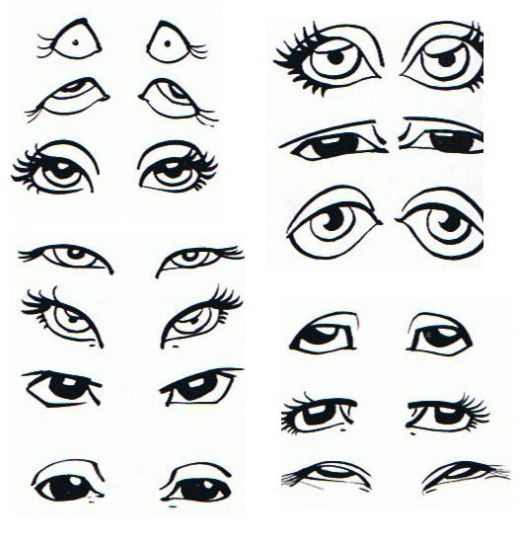 Face With Images Caricature Drawing Eye Drawing Caricature