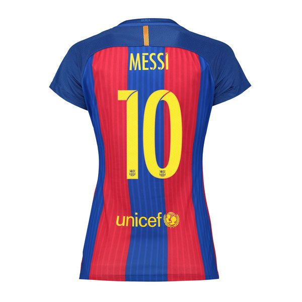262133890 Lionel Messi Women s Home Soccer Jersey 16 17 Barcelona  10