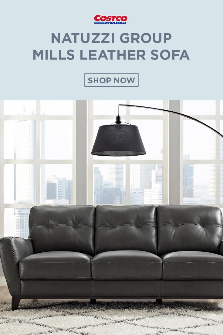 Natuzzi Group Mills Leather Sofa Sofa Sofa Shop Leather Sofa