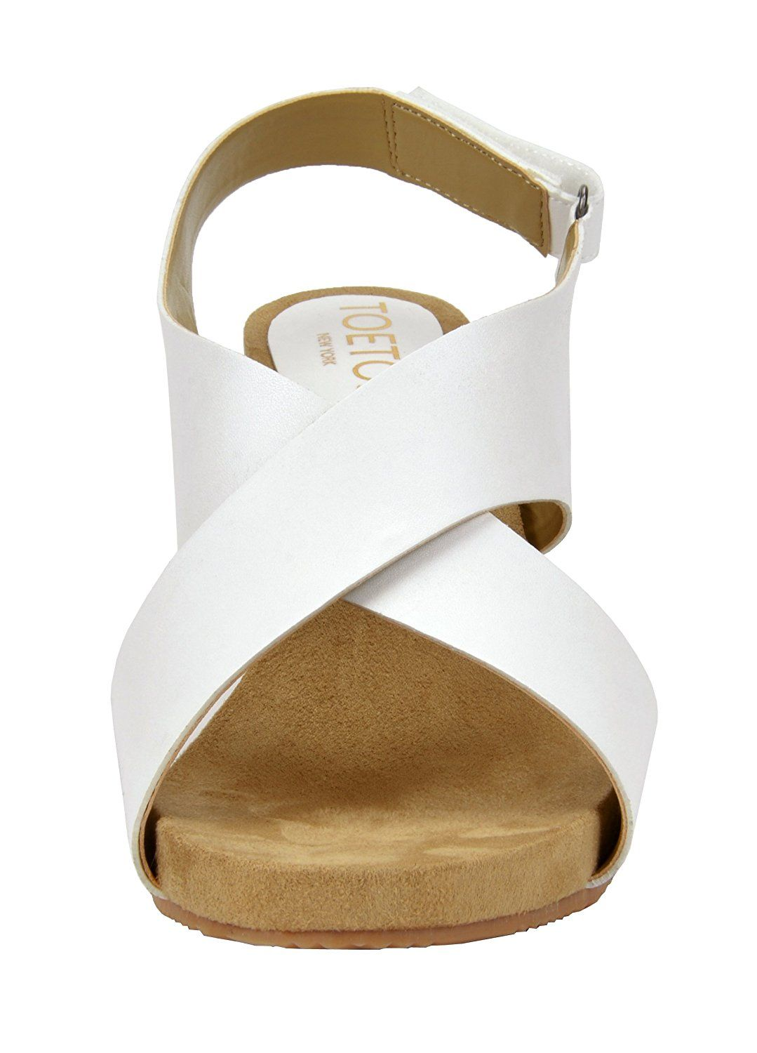 9f368e1e373e TOETOS SOLSOFT New Women s Casual Open Toes Mid Heels Platform Wedges  Summer Sandals   More info could be found at the image url.