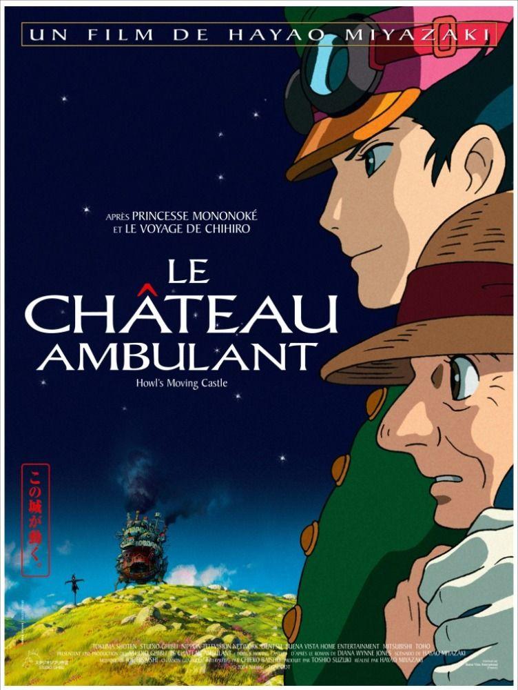 Le Château ambulant Le chateau ambulant, Miyazaki, Hayao