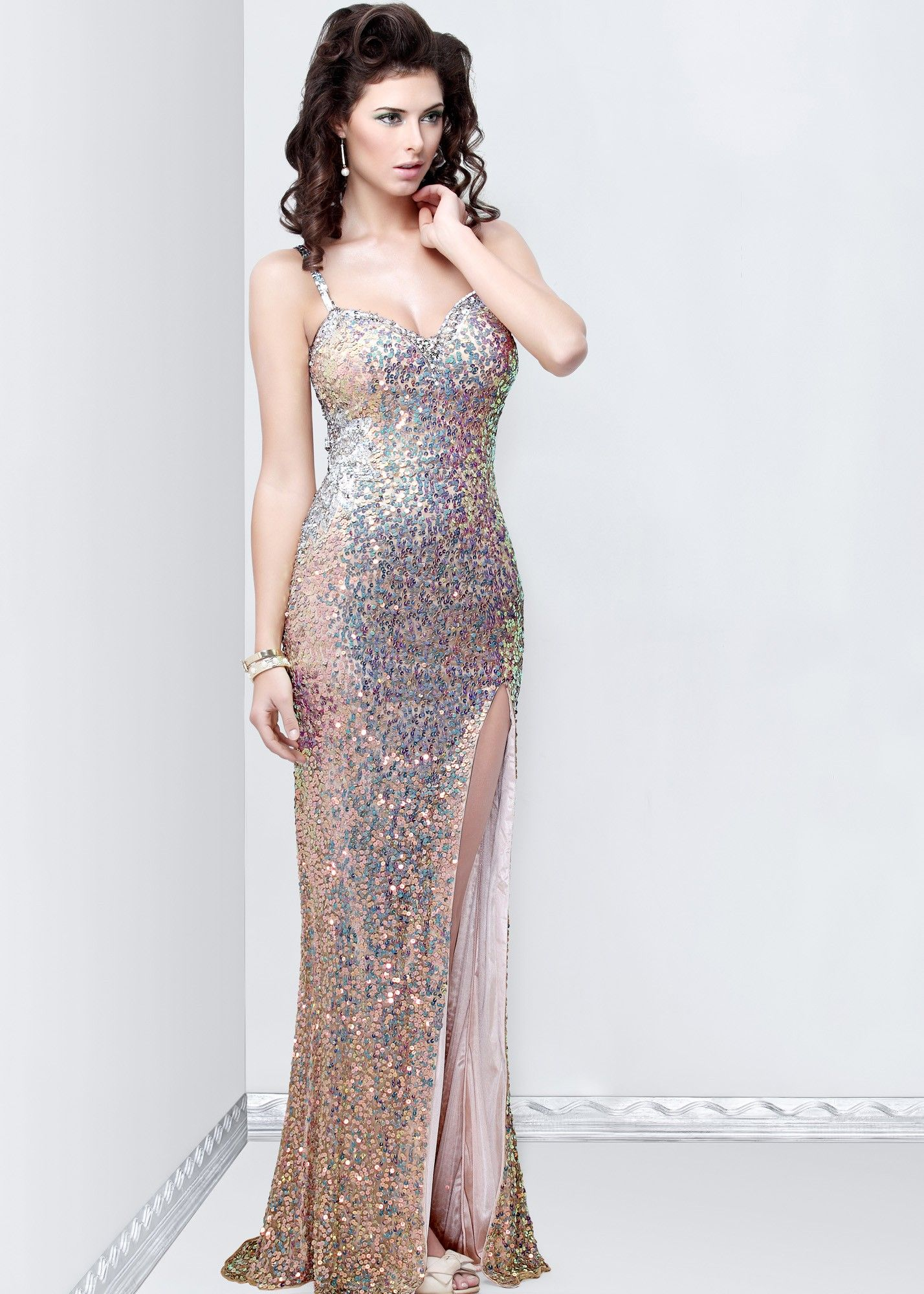 Primavera sweetheart sequin gown dresses pinterest